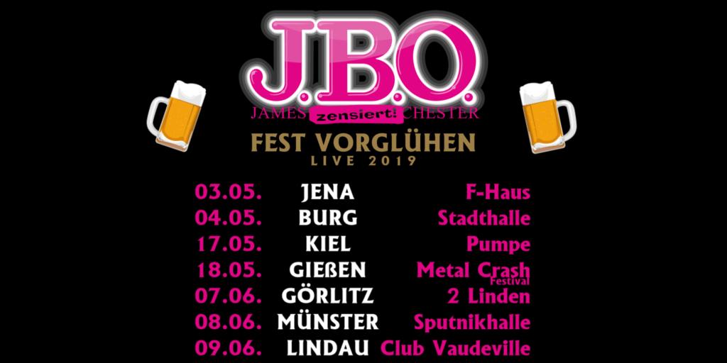 """J.B.O. – """"Fest-Vorglühen"""" – Frühjahrstermine als Warm Up zum großen Jubiläum bestätigt"""